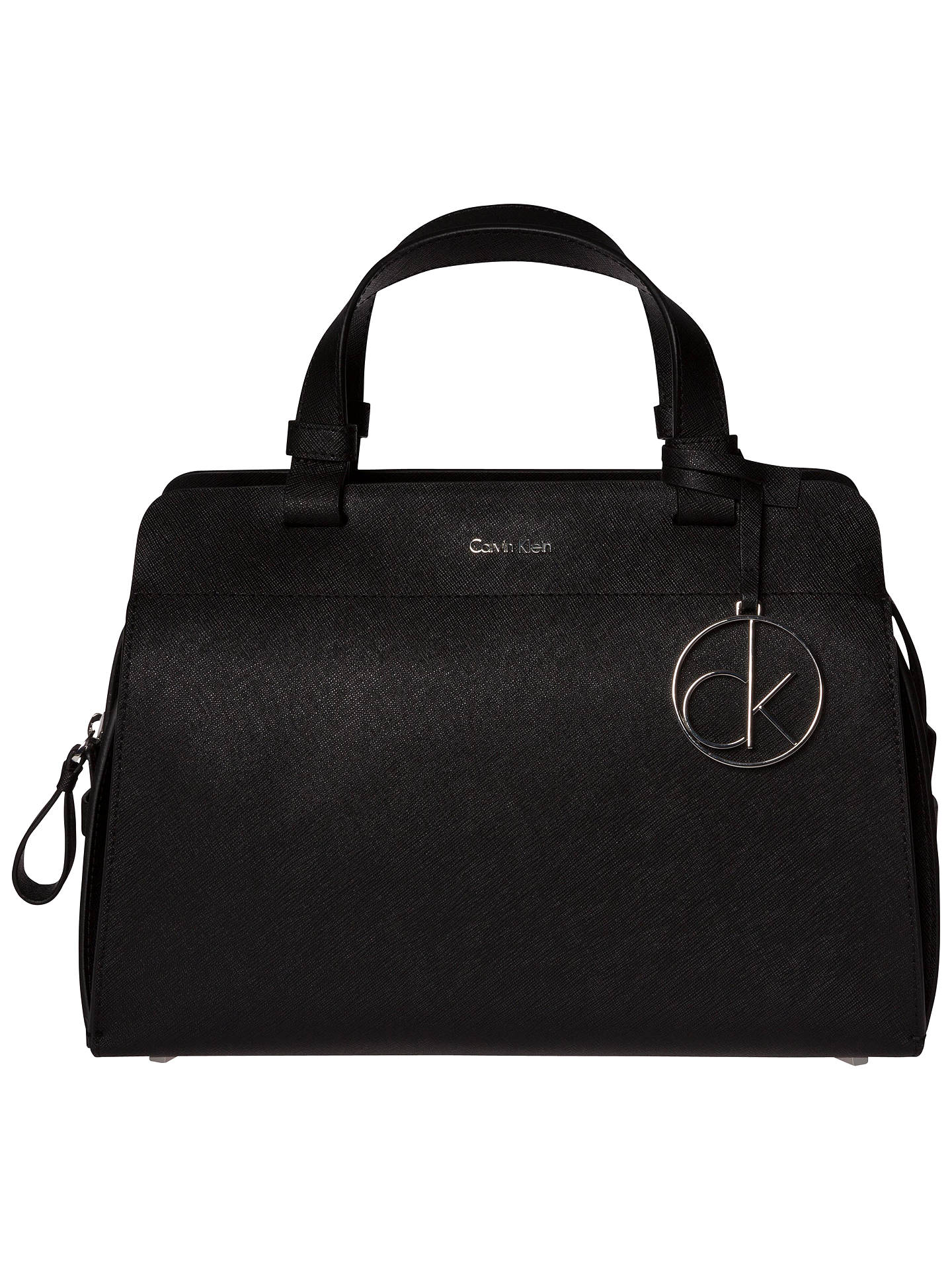 695fe2beee9 Calvin Klein Sofie Small Leather Duffle Bag at John Lewis   Partners