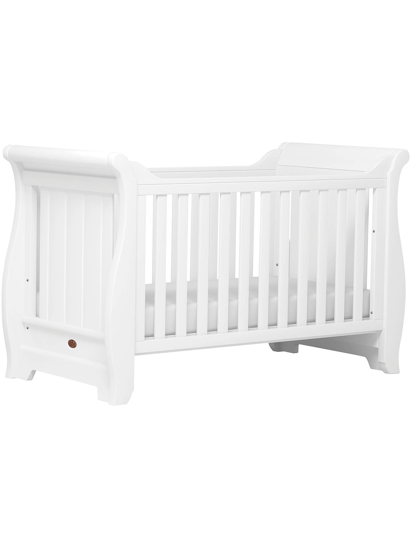 outlet store c8f58 28172 Boori Sleigh Cotbed, White