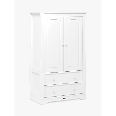Boori Sleigh Wardrobe, White