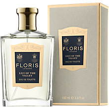 Buy Floris Lily of the Valley Eau de Toilette, 100ml Online at johnlewis.com