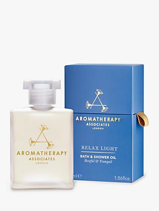 Aromatherapy Associates Relax Light Bath & Shower Oil, 55ml