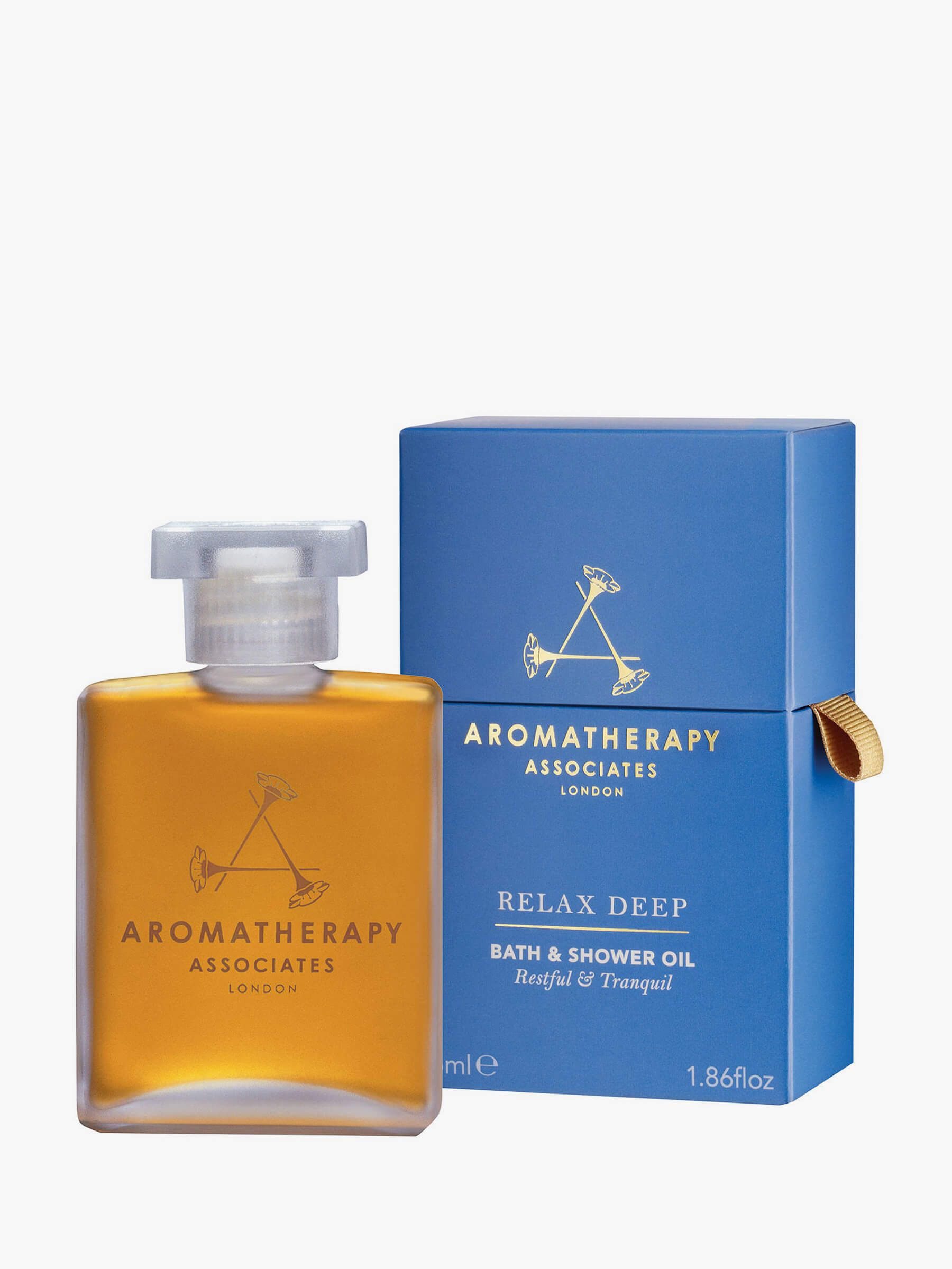Buy Aromatherapy Associates Relax Deep Bath & Shower Oil, 55ml Online at johnlewis.com