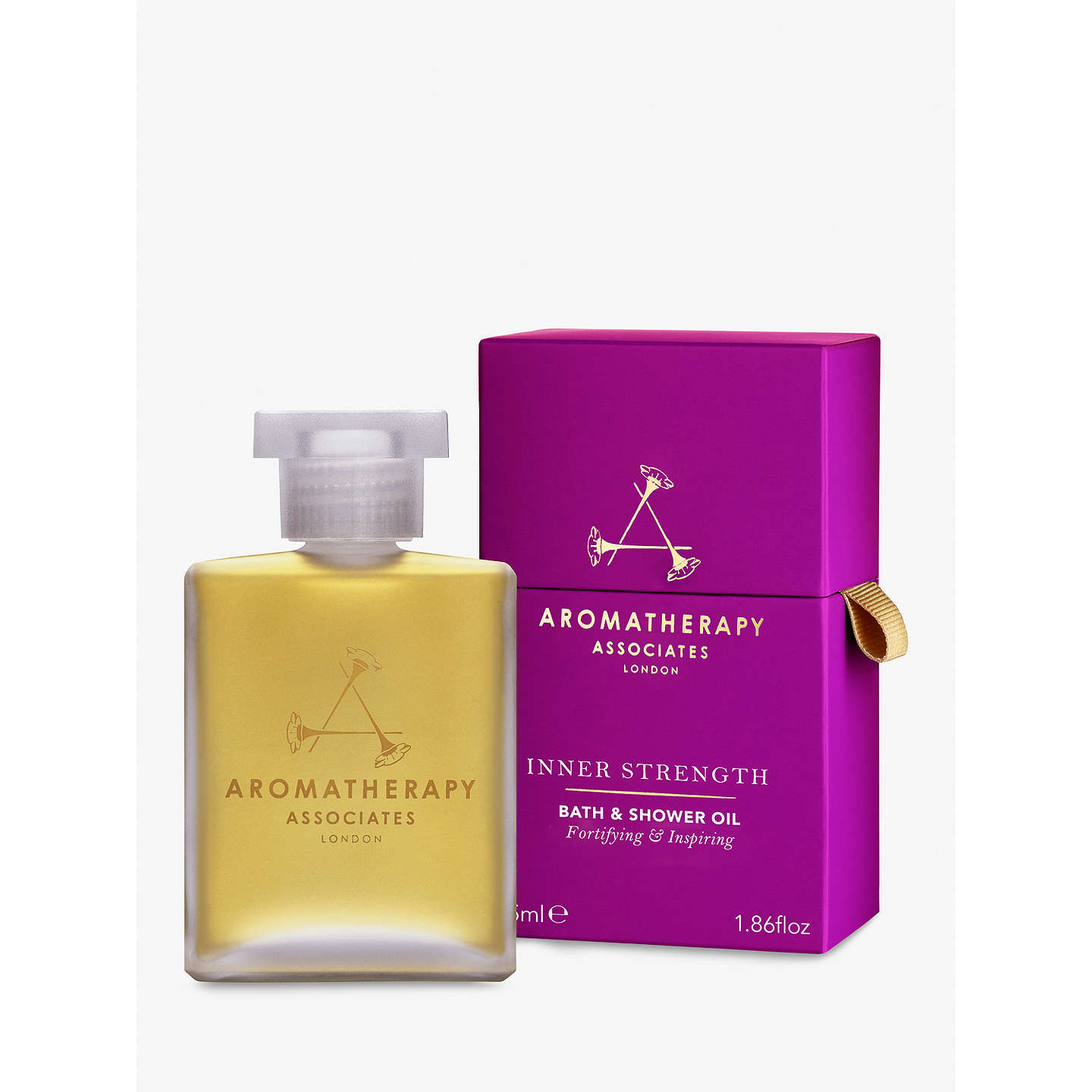 BuyAromatherapy Associates Strength Bath and Shower Oil, 55ml Online at johnlewis.com
