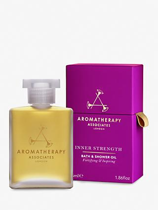 Aromatherapy Associates Strength Bath and Shower Oil, 55ml
