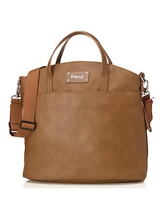Babymel Grace Vegan Leather Changing Bag, Tan