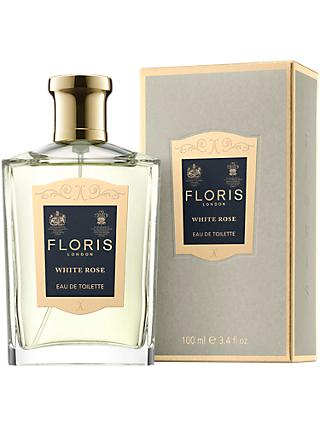Floris White Rose Eau de Toilette, 100ml