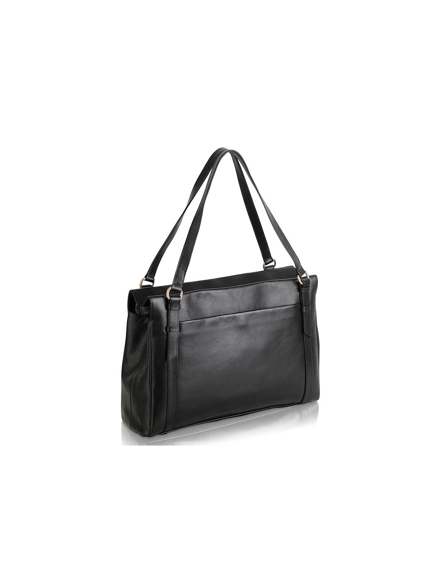 0d695c14c ... Buy Radley Chelsea Large Leather Work Bag, Black Online at  johnlewis.com ...