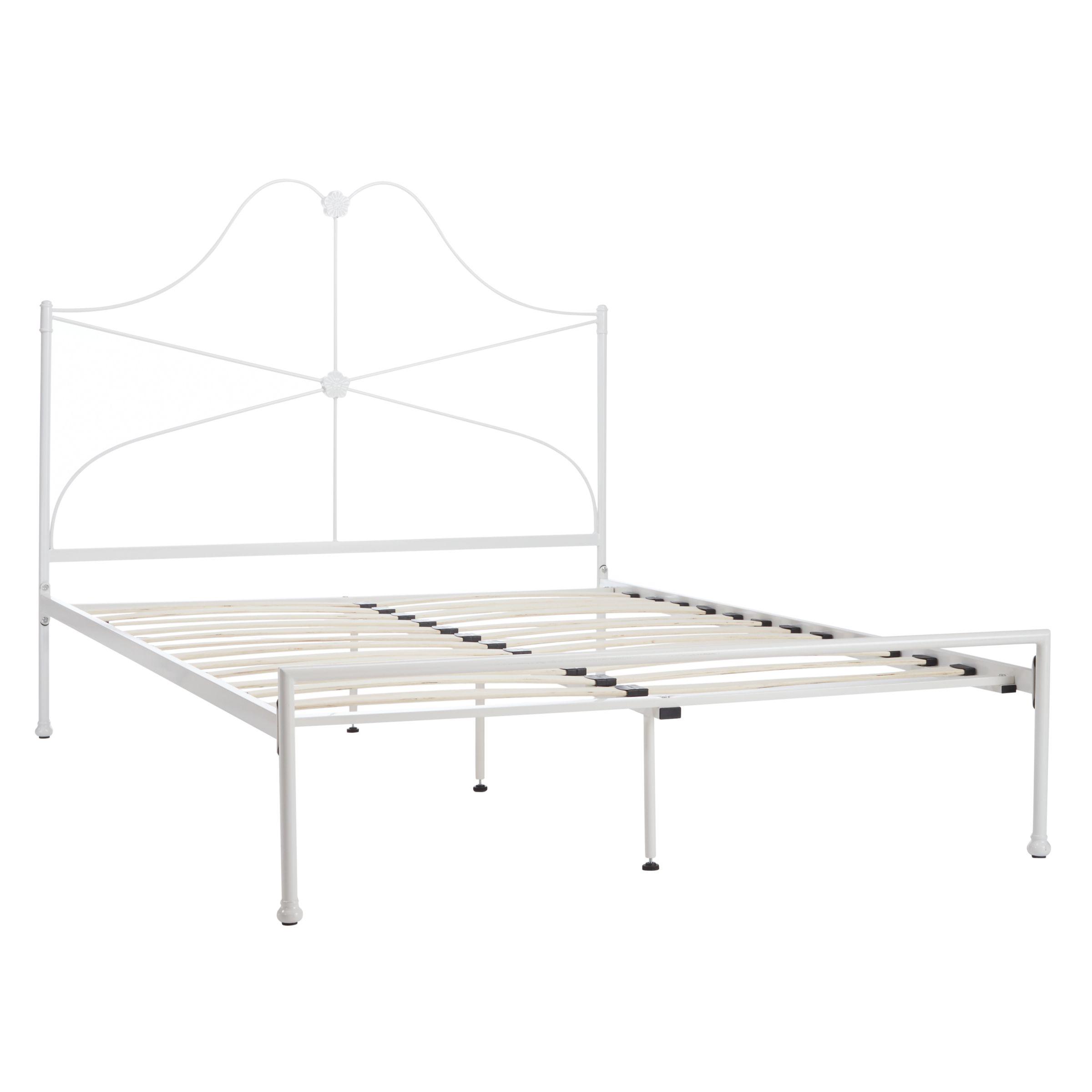 Buy John Lewis Mary Bed Frame King Size White John Lewis