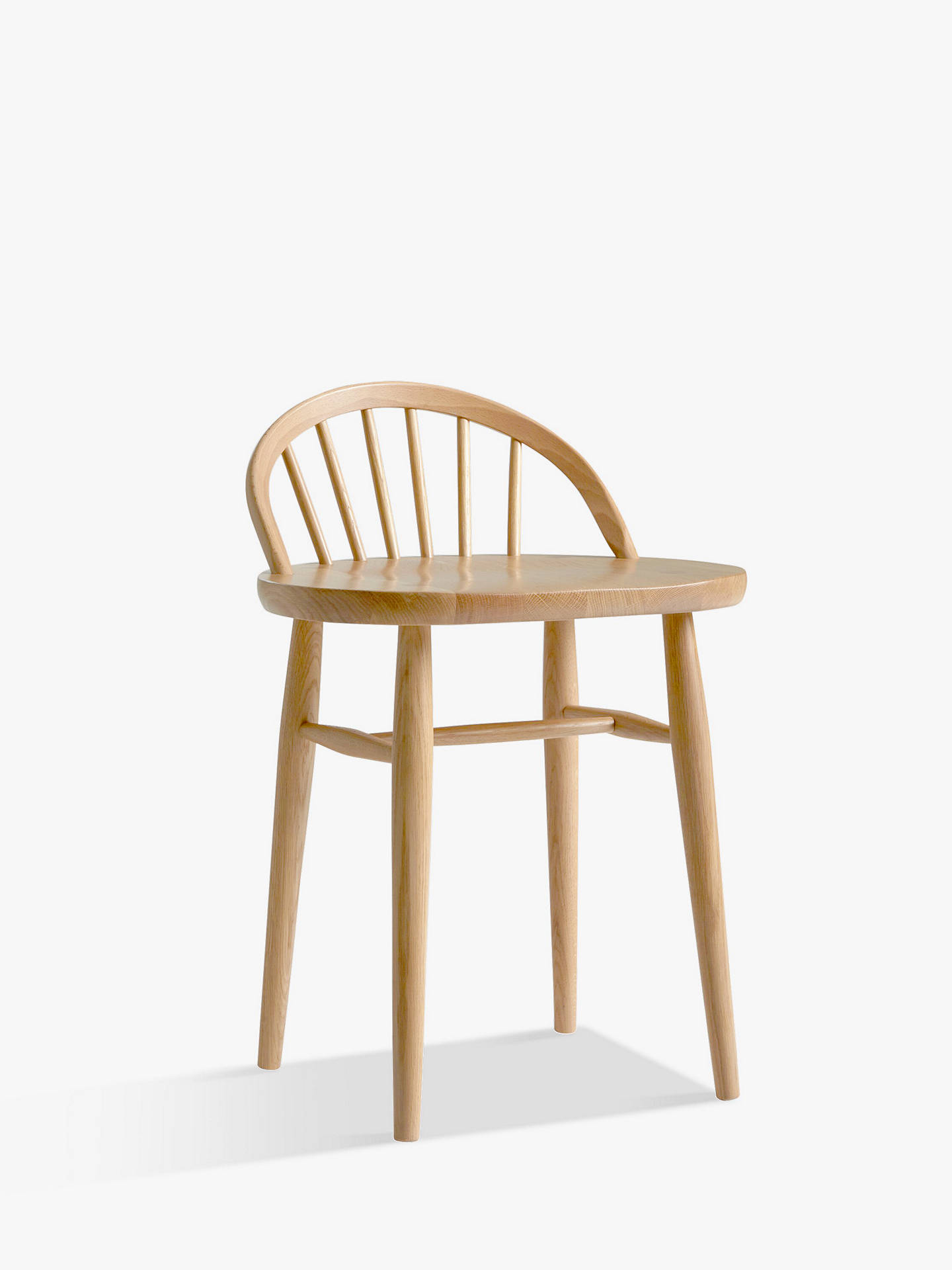 Dressing Table Chairs And Stools: Ercol For John Lewis Shalstone Dressing Table Chair, Oak