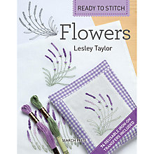 Buy Ready To Stitch Flowers by Lesley Taylor Book Online at johnlewis.com