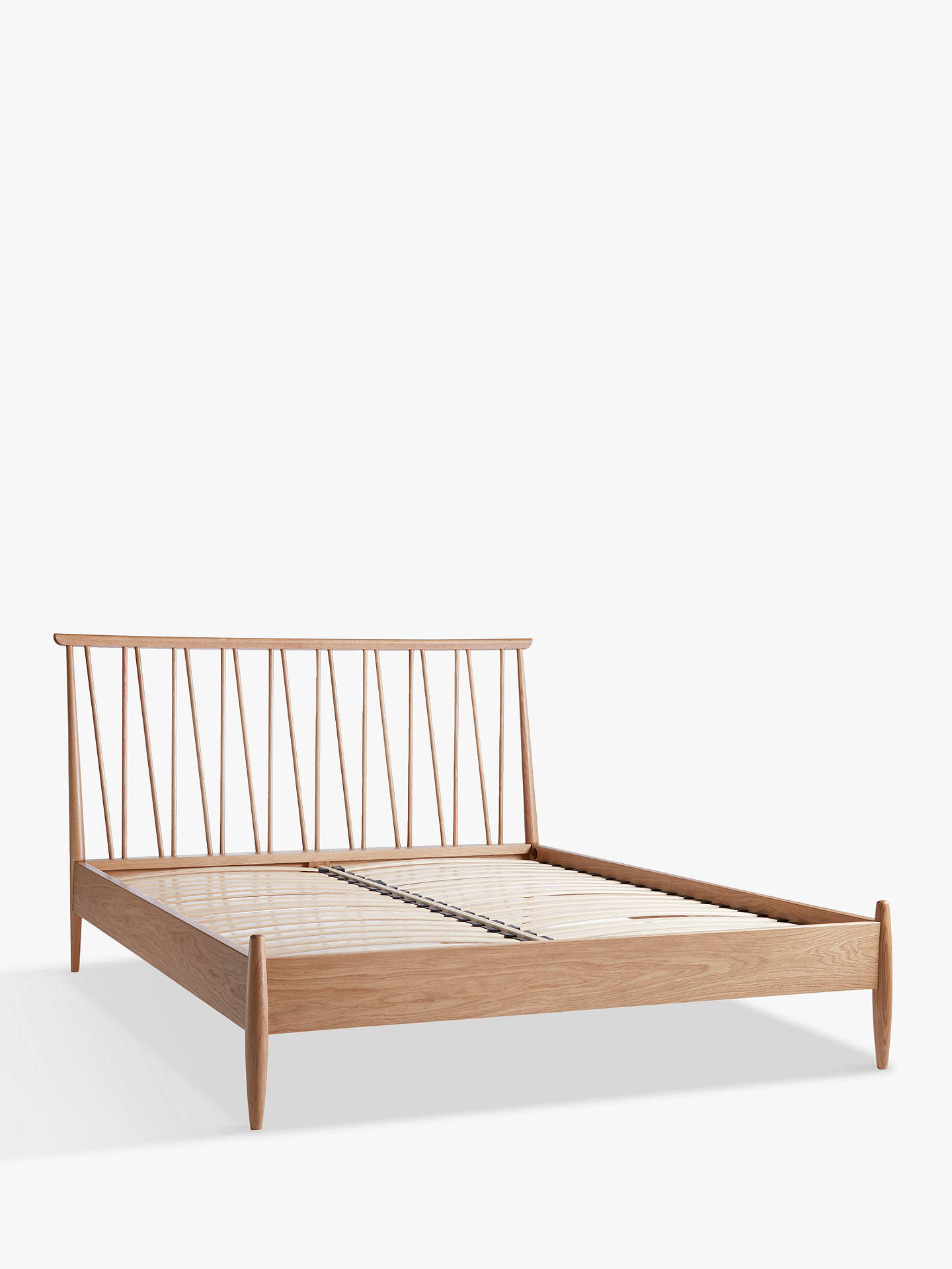 Buy ercol for John Lewis Shalstone Bed Frame, Oak, Double Online at johnlewis.com