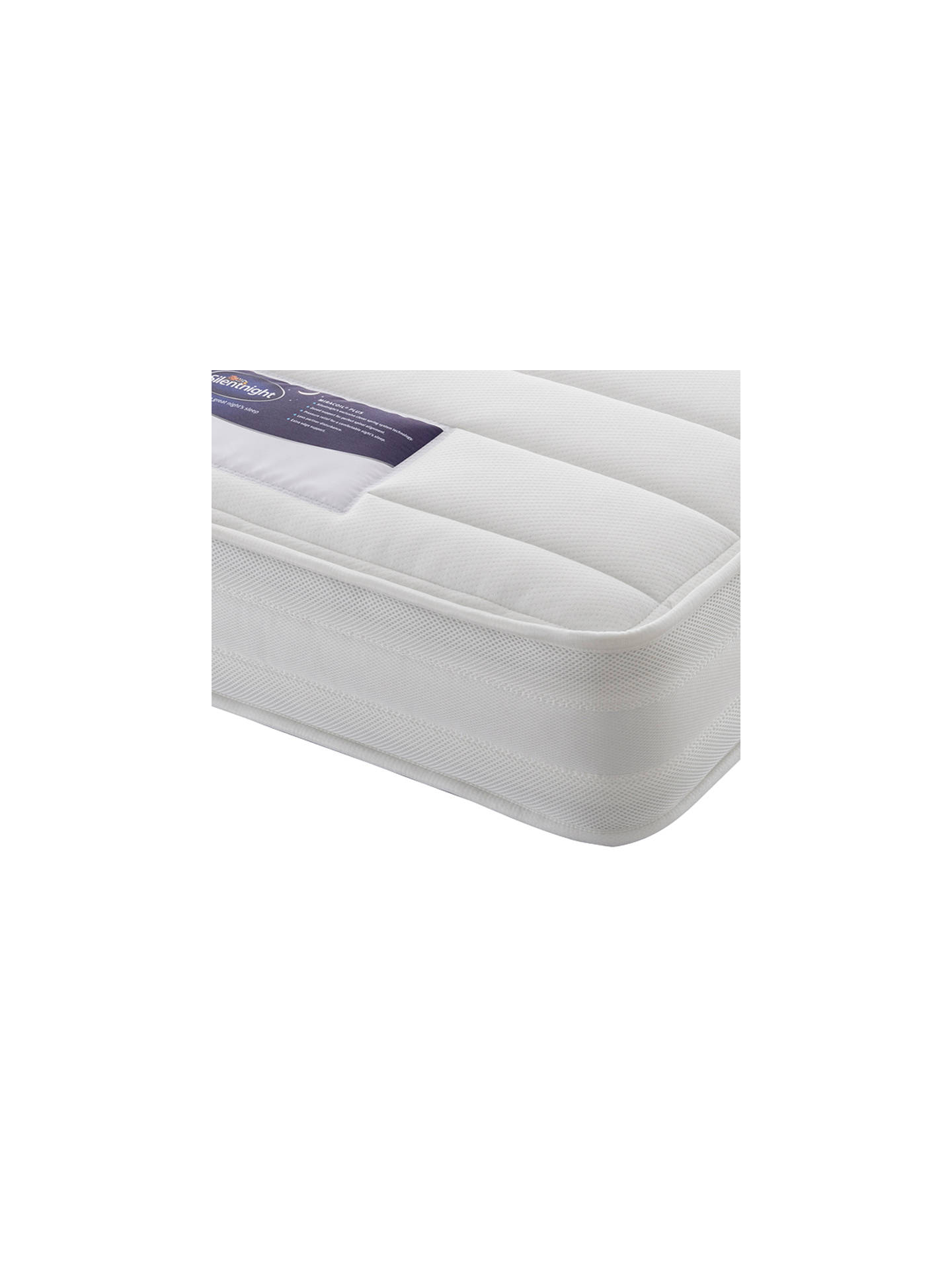 Buy Silentnight Healthy Growth Miracoil Mattress, Firm, Single Online at johnlewis.com