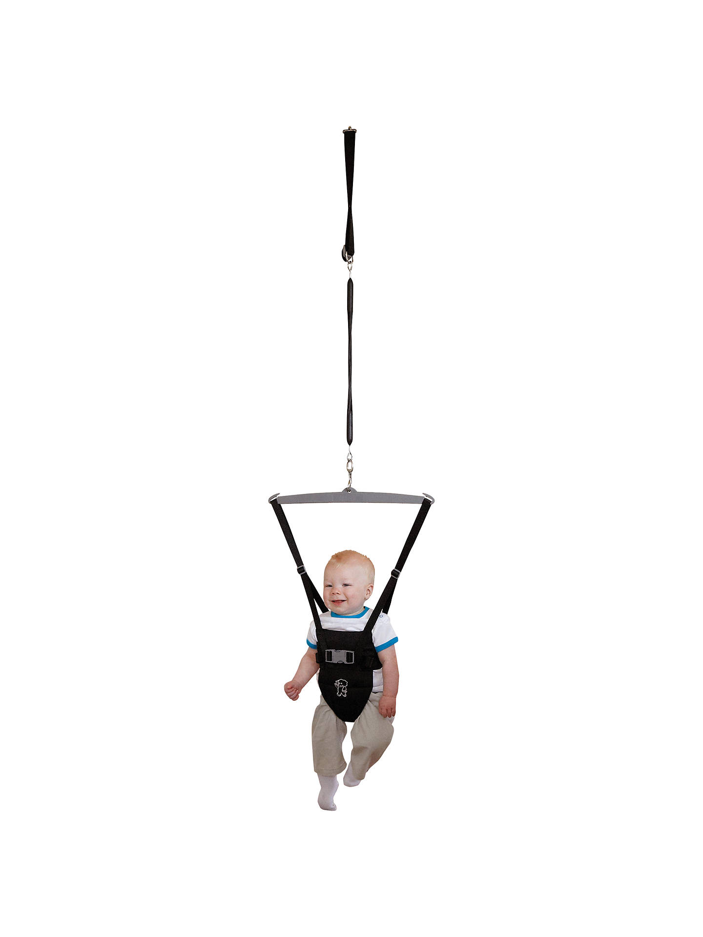 Tippitoes Door Bouncer, Black at John Lewis & Partners