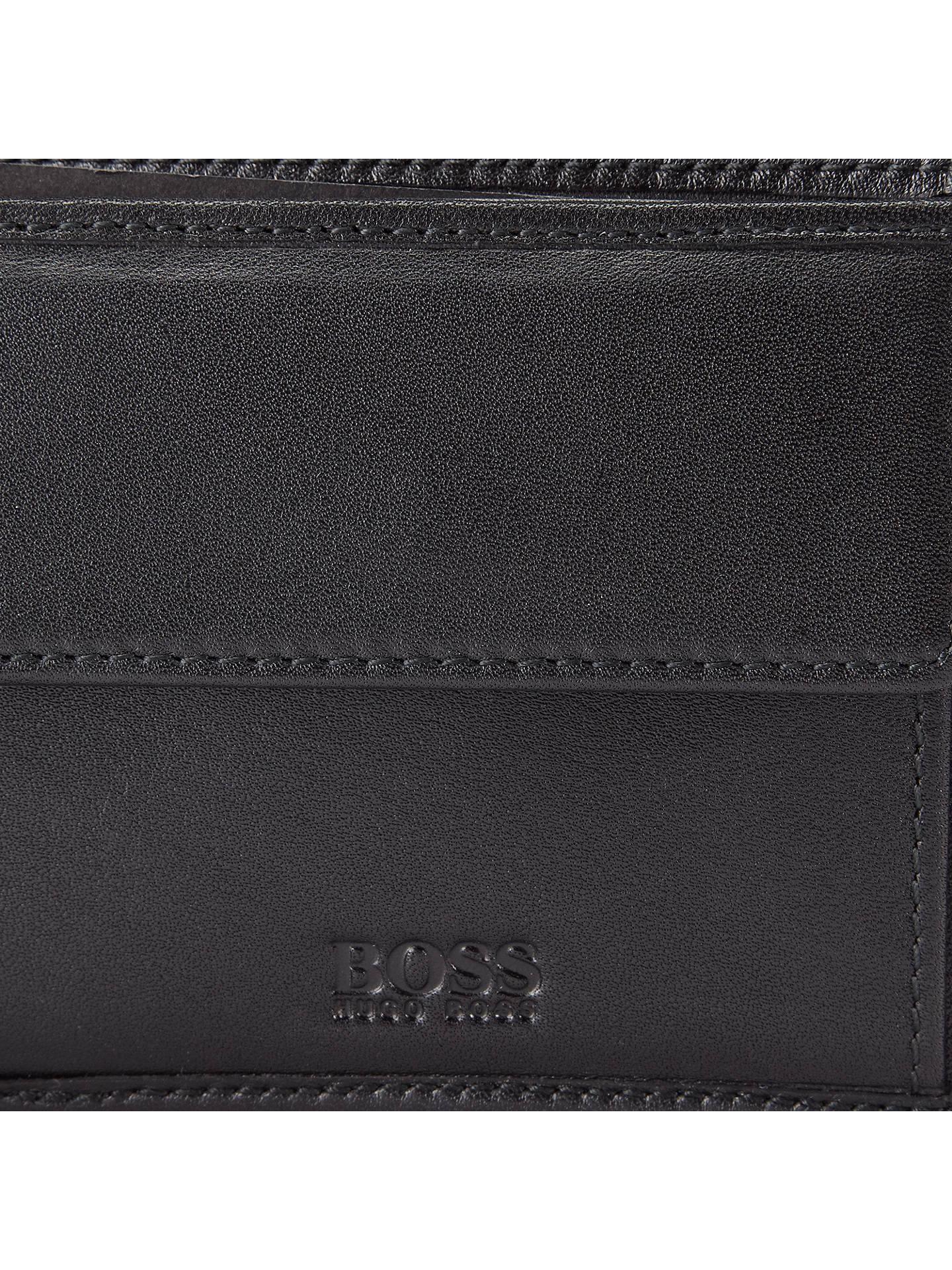 Partners amp; Bi Fold Leather Asolo Boss At Lewis Wallet Black John vq6z1OZyw4