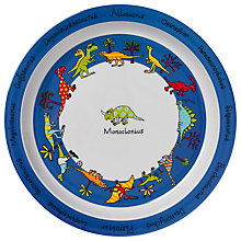 Buy Tyrrell Katz Dinosaur Plate Online at johnlewis.com