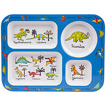 Buy Tyrrell Katz Dinosaur Compartment Tray Online at johnlewis.com