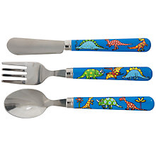 Buy Tyrrell Katz Dinosaur Cutlery Set Online at johnlewis.com