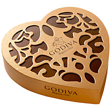 Buy Godiva Coeur Iconique Chocolate Box, 150g Online at johnlewis.com