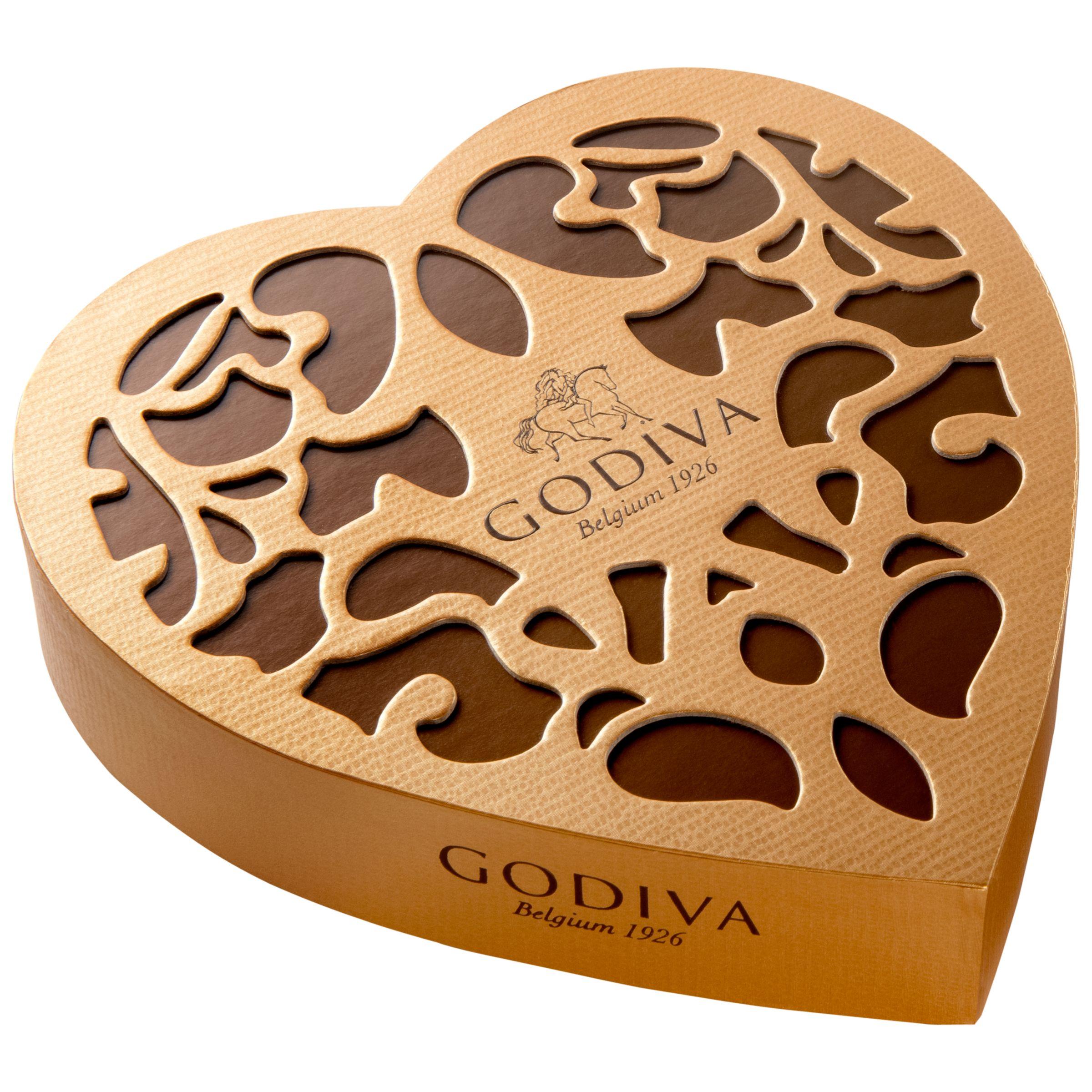 Godiva Godiva Coeur Iconique Chocolate Box, 150g
