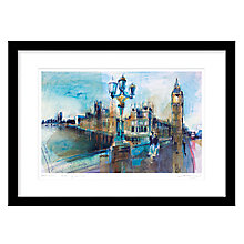Buy Rob Wilson - Westminster Framed Limited Edition Giclee Print, 54 x 74cm Online at johnlewis.com