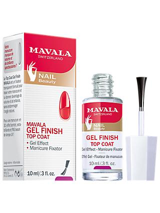 Mavala Gel Effect Nail Polish Top Coat, 10ml