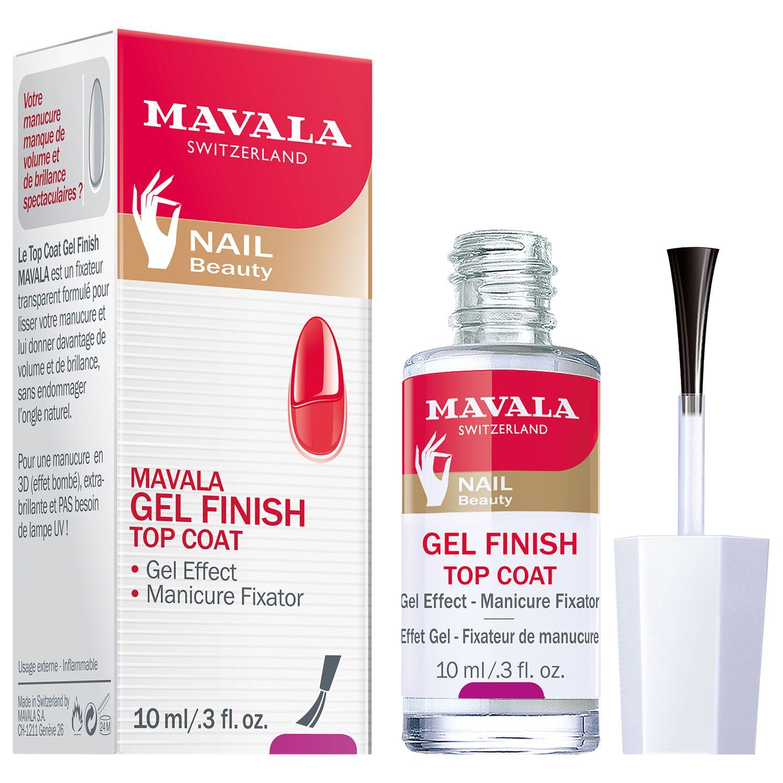 Mavala Mavala Gel Effect Nail Polish Top Coat, 10ml