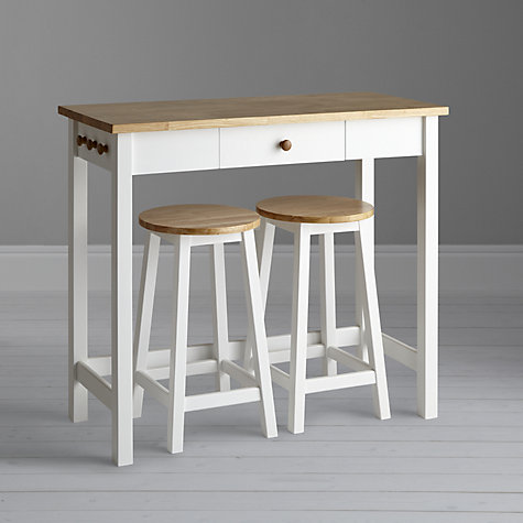 Buy John Lewis Adler Bar Table Amp Stools White Oak John