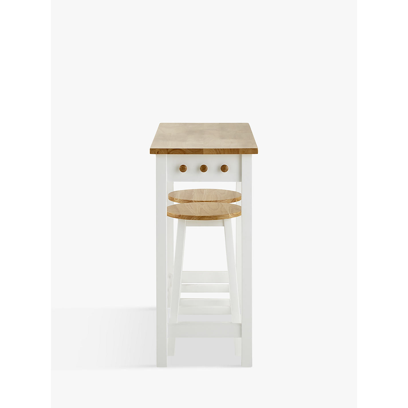 buy john lewis adler bar table u0026 stools cream online at