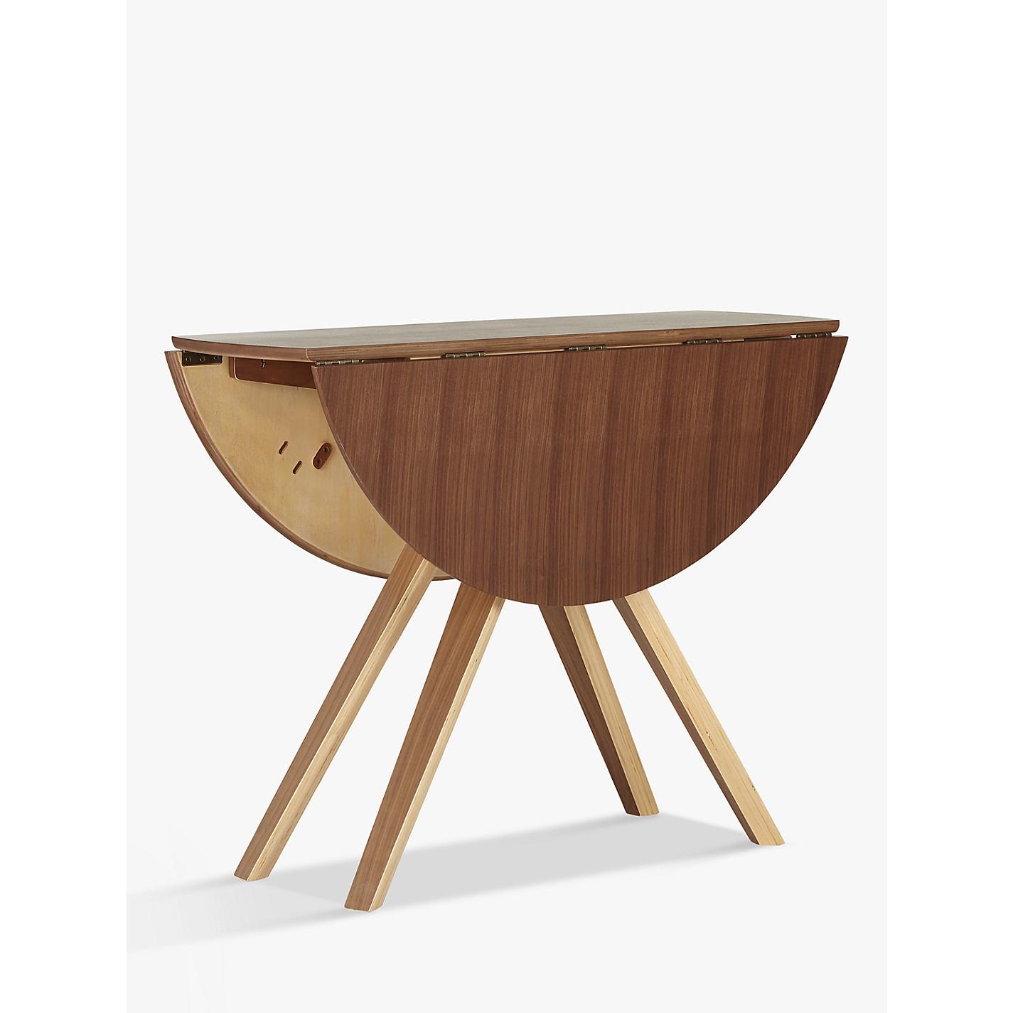 Drop Leaf Dining Table Buy John Lewis Radar 4 Seater Drop Leaf Dining Table Walnut
