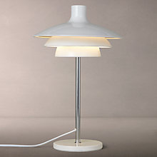 Buy House by John Lewis Harvey Table Lamp, White Online at johnlewis.com
