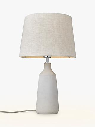 Table lamps croft collection john lewis partners john lewis partners linney concrete table lamp aloadofball Choice Image