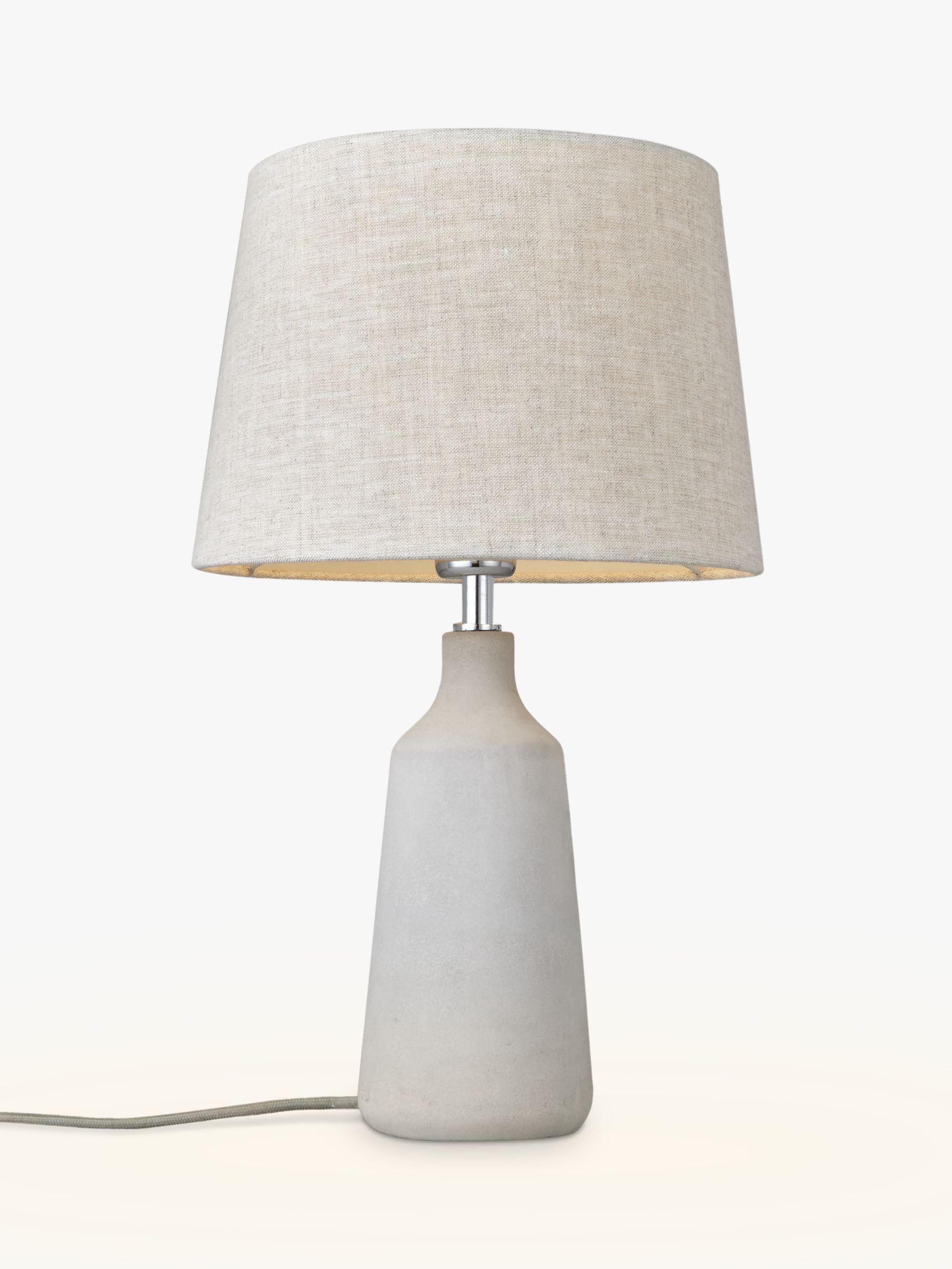 John Lewis & Partners Linney Concrete Table Lamp