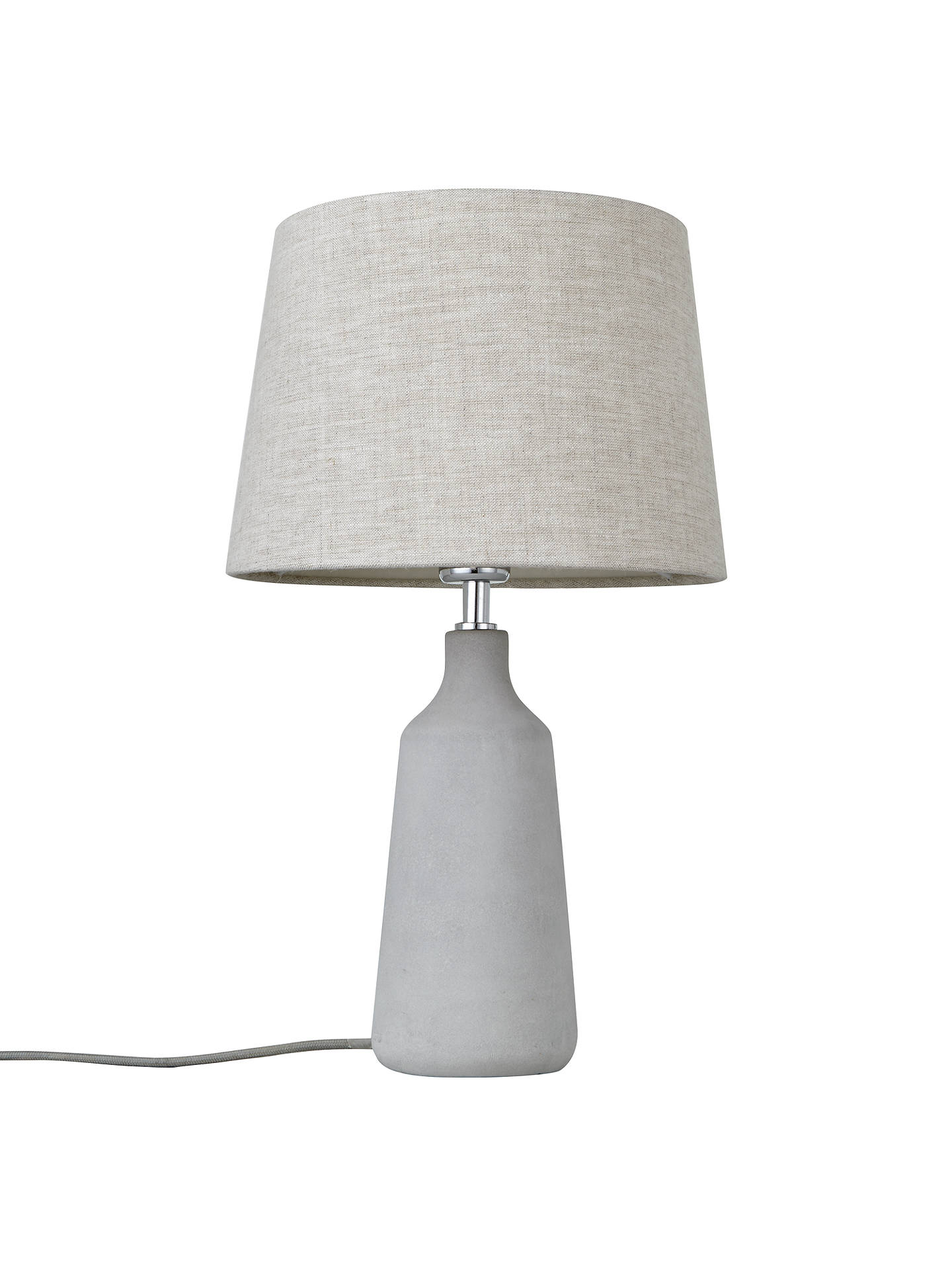 BuyJohn Lewis & Partners Linney Concrete Table Lamp Online at johnlewis.com