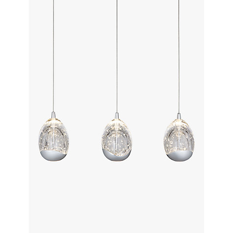 Buy john lewis droplet 3 pendant led diner ceiling light chrome buy john lewis droplet 3 pendant led diner ceiling light chrome online at johnlewis aloadofball Gallery