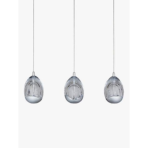 Buy John Lewis Droplet 3 Pendant Led Diner Ceiling Light