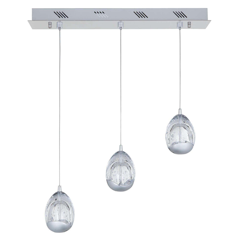 John Lewis Droplet 3 Pendant Led Diner Ceiling Light
