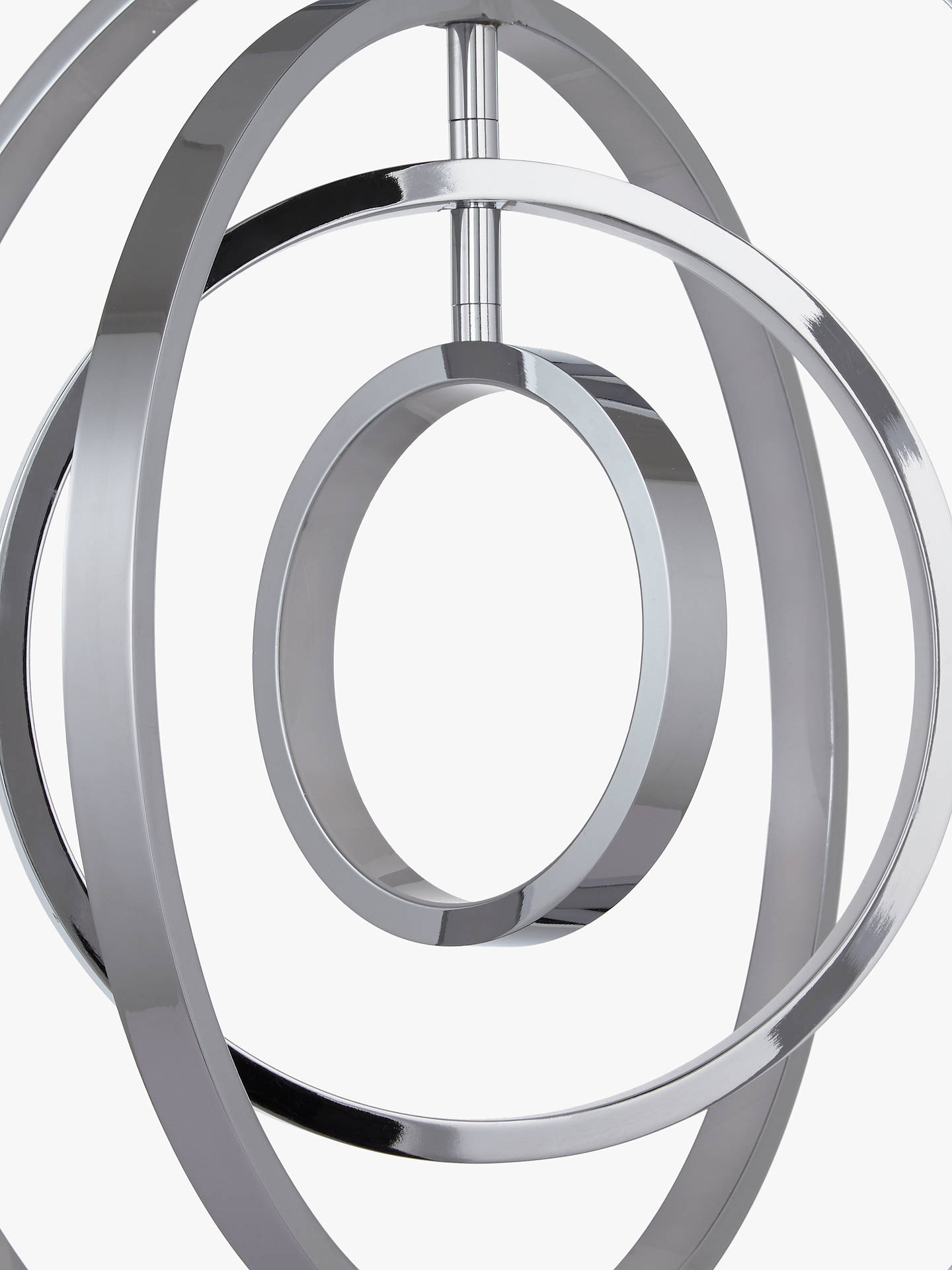 Buy John Lewis & Partners Cosmic LED Ring Ceiling Light, Clear Online at johnlewis.com