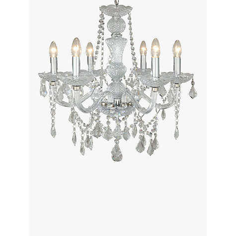 John Lewis Bethany Chandelier 6 Arm Online At Johnlewis