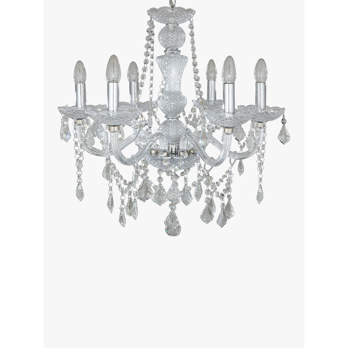 John lewis bethany chandelier 6 arm at john lewis buyjohn lewis bethany chandelier 6 arm online at johnlewis mozeypictures Image collections