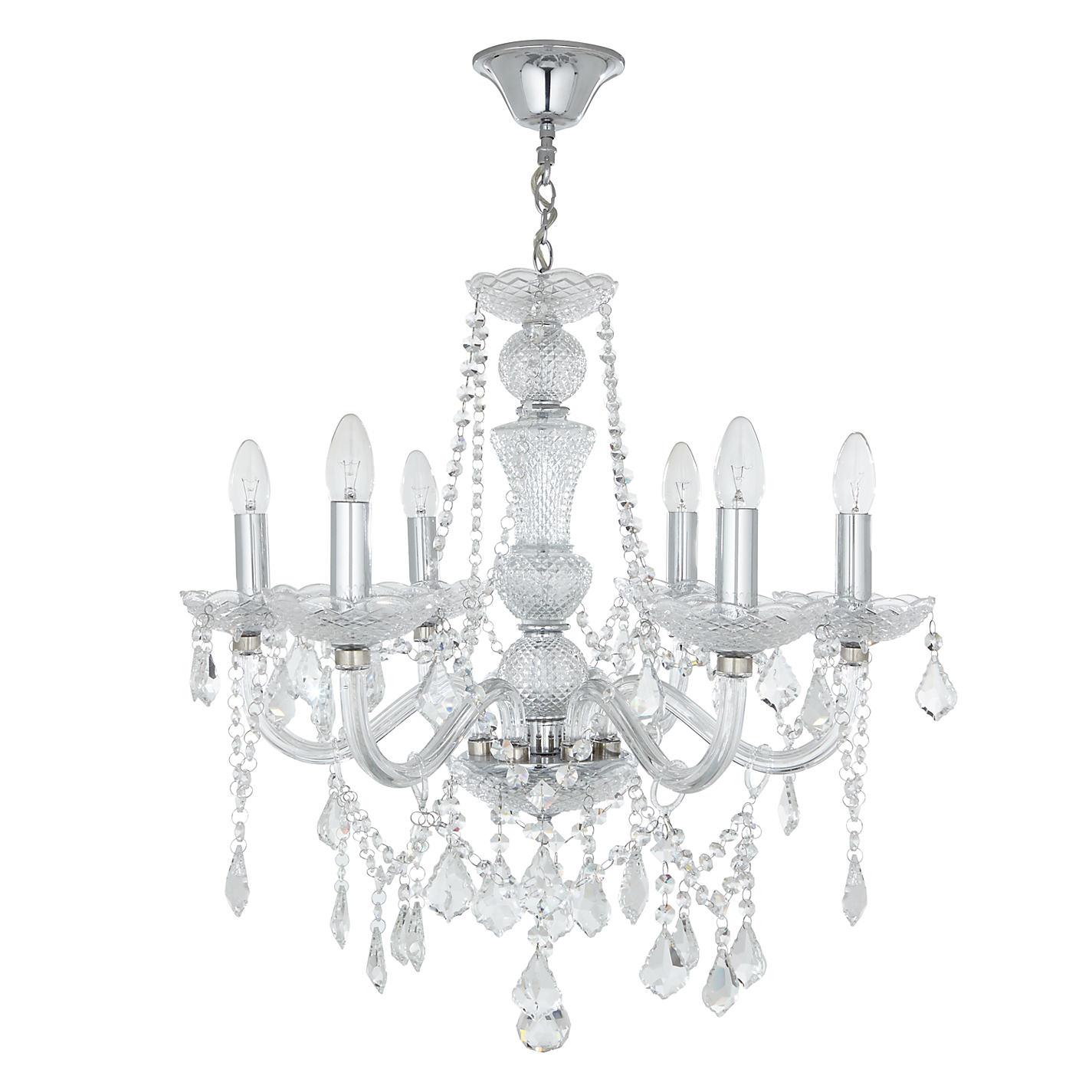 Buy john lewis bethany chandelier 6 arm john lewis buy john lewis bethany chandelier 6 arm online at johnlewis aloadofball Gallery