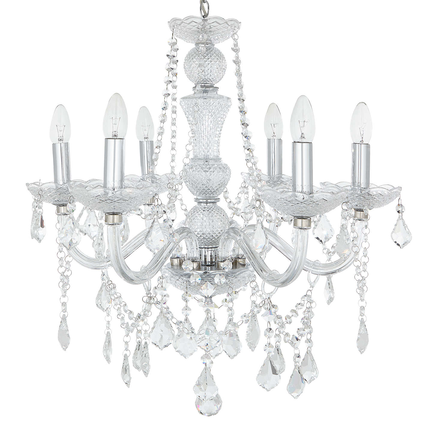 John lewis bethany chandelier 6 arm at john lewis buyjohn lewis bethany chandelier 6 arm online at johnlewis aloadofball Image collections
