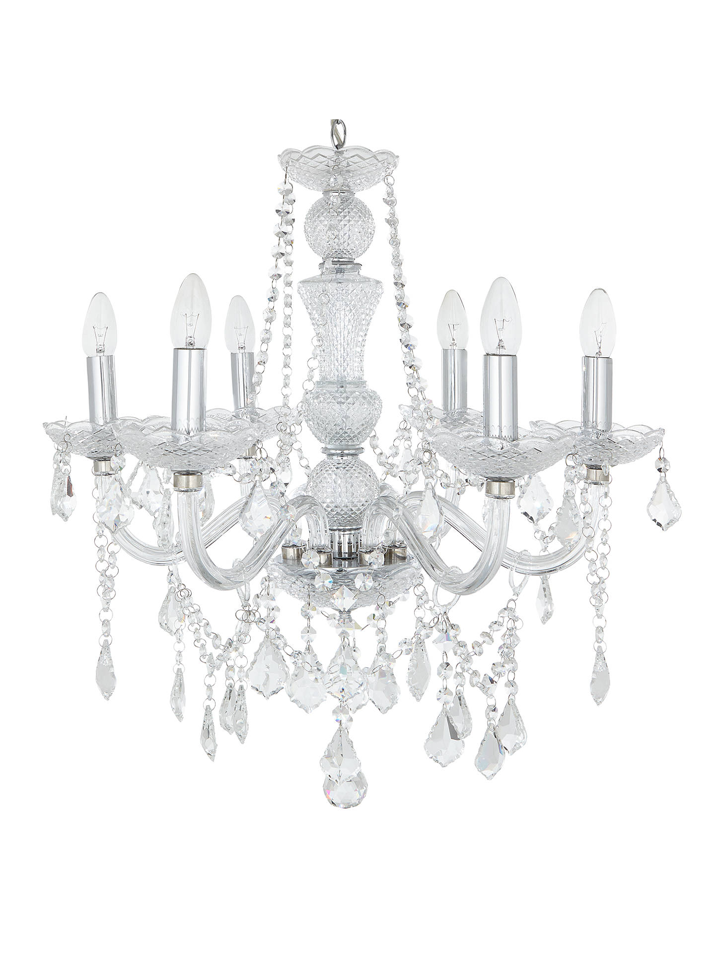John Lewis Partners Bethany Chandelier 6 Arm At Parts Diagram What Make Up A Buyjohn Online Johnlewis