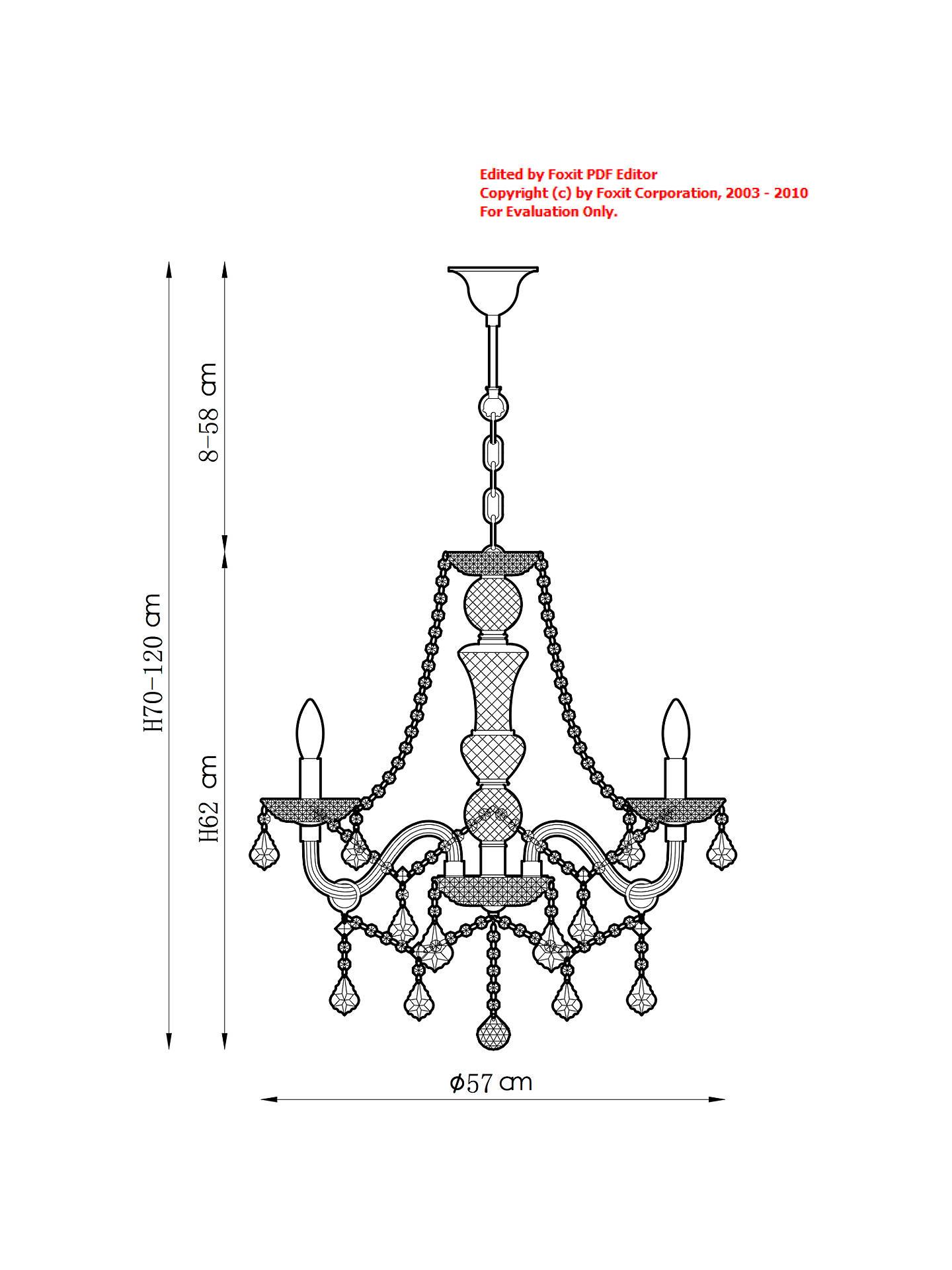 John Lewis Partners Bethany Chandelier 6 Arm At Dimmer Wiring Diagram Buyjohn Online Johnlewis