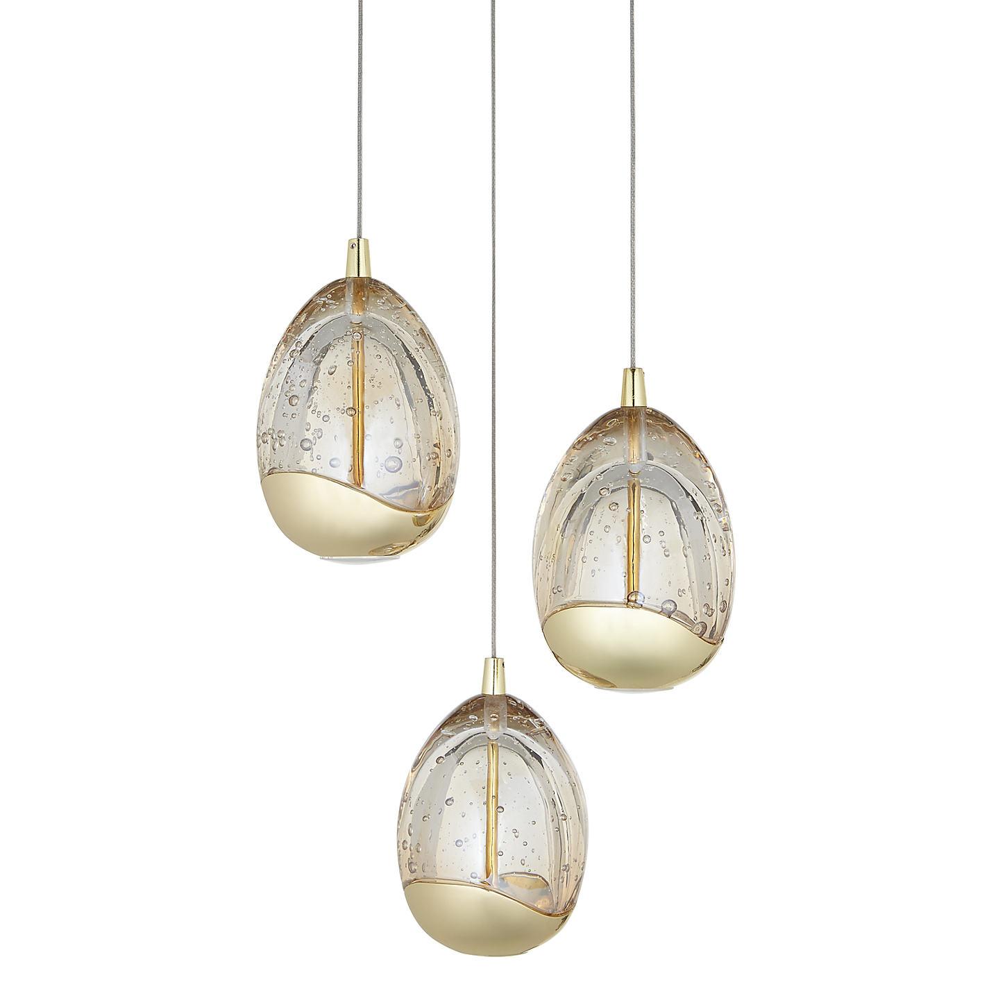 ... Buy John Lewis Droplet LED 3 Pendant Ceiling Light Online at johnlewis.com ...  sc 1 st  John Lewis & Buy John Lewis Droplet LED 3 Pendant Ceiling Light | John Lewis azcodes.com