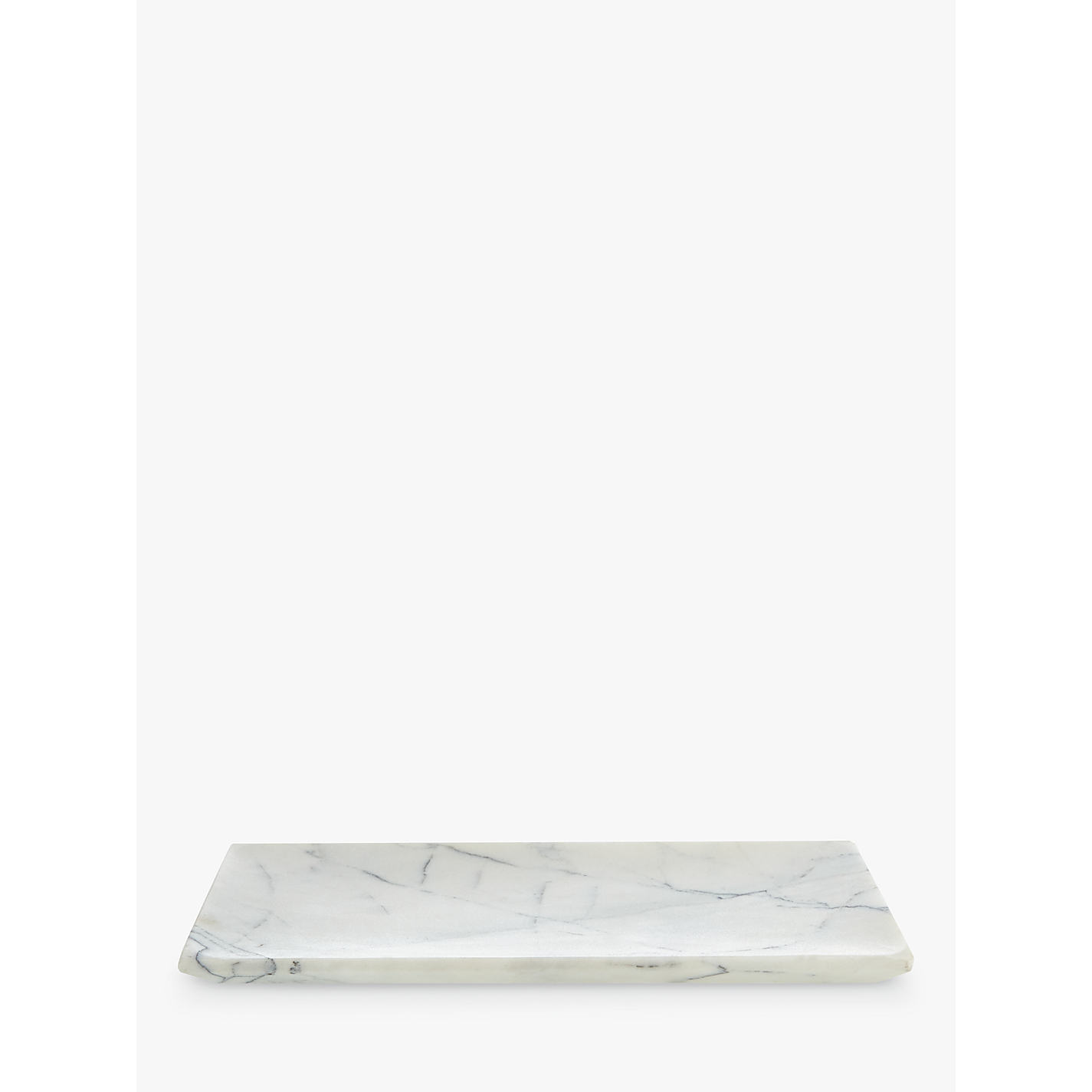 Buy John Lewis White Marble Bathroom Accessories Tray John Lewis