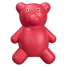 Buy Fred & Ginger Rubber Pet Toy, Bear Online at johnlewis.com