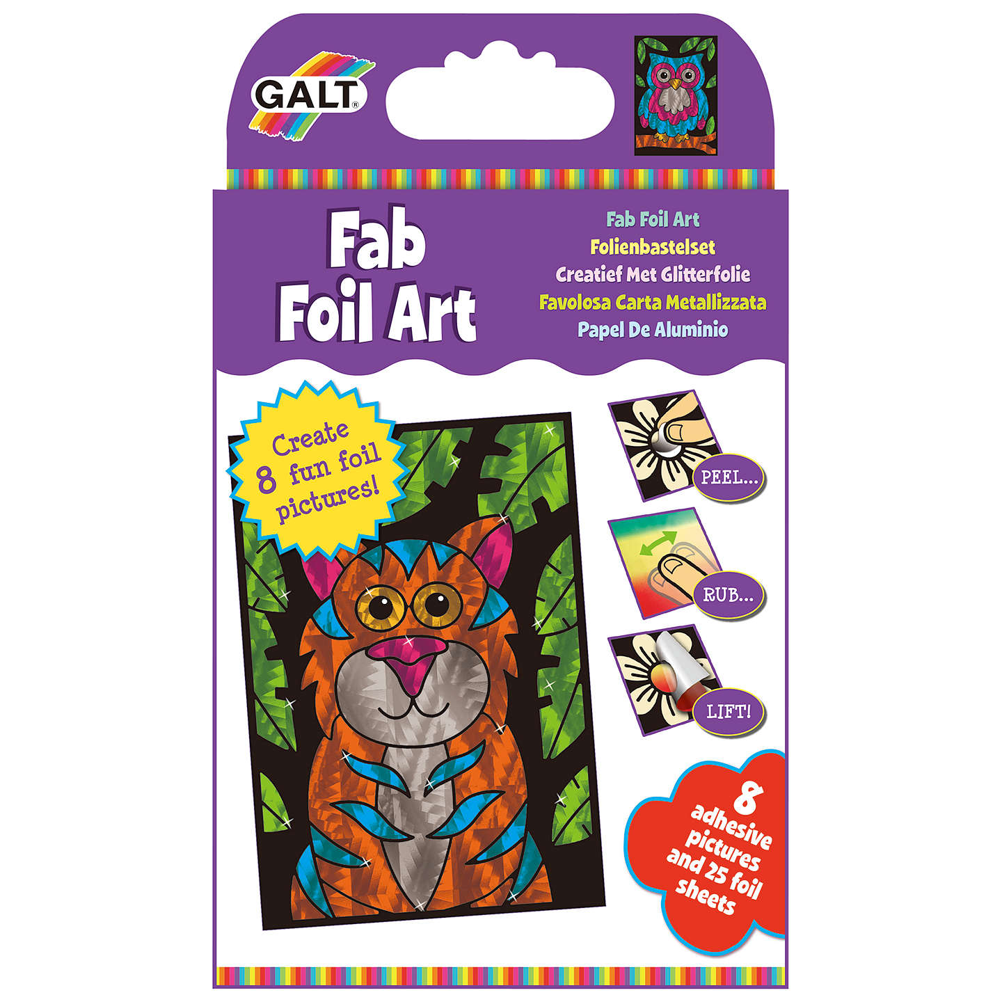 BuyGalt Fab Foil Art Online at johnlewis.com