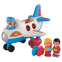 Buy Early Learning Centre HappyLand Jumbo Jet Set Online at johnlewis.com