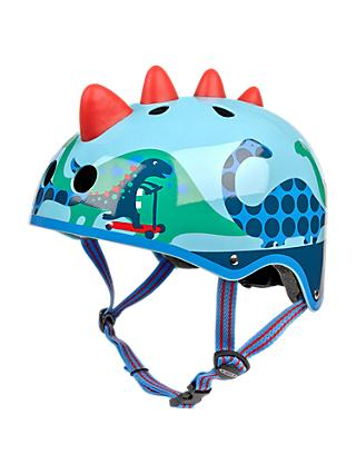 Micro 3D Scootersaurus Scooter Safety Helmet, Small