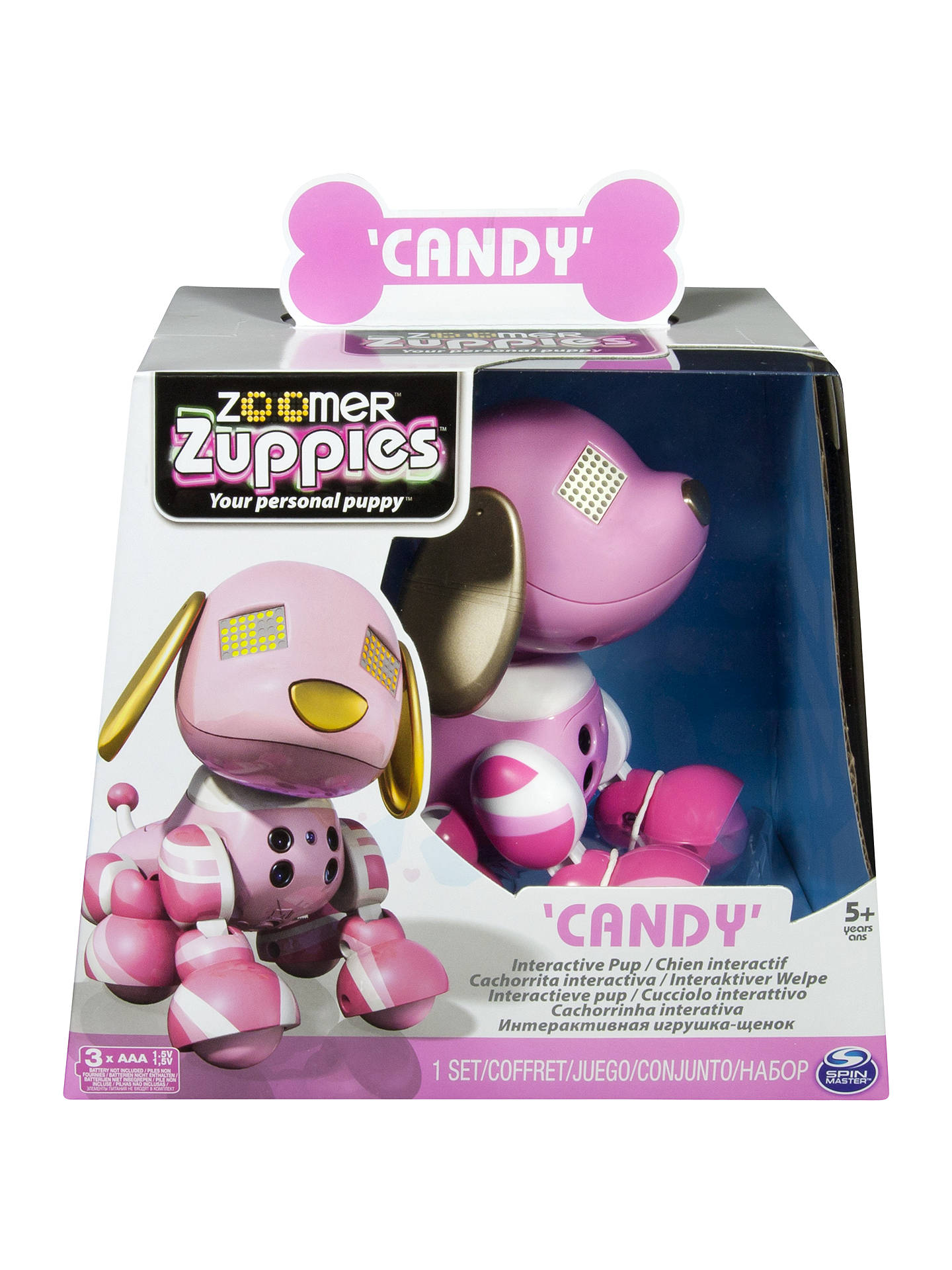 Zoomer Zuppies Robotic Puppy, Assorted at John Lewis & Partners